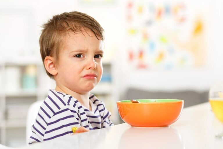 Gdy dziecko nie chce jeść…